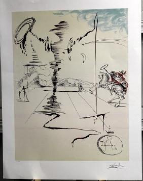 Signed Limited Edition Salvador Dali