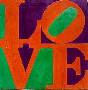 Robert Indiana - Love No 9