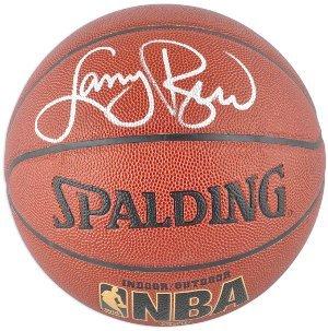 Larry Bird Signed Indoor/Outdoor Basketball- Bird