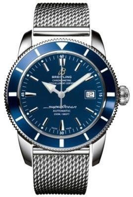 Breitling Superocean Heritage 42 Blue Dial  Men Watch