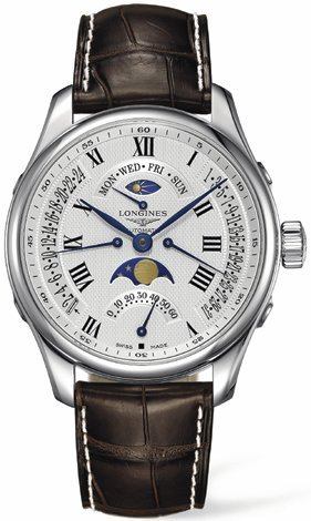 Longines Master Collection Moonphase Retrograde  Men