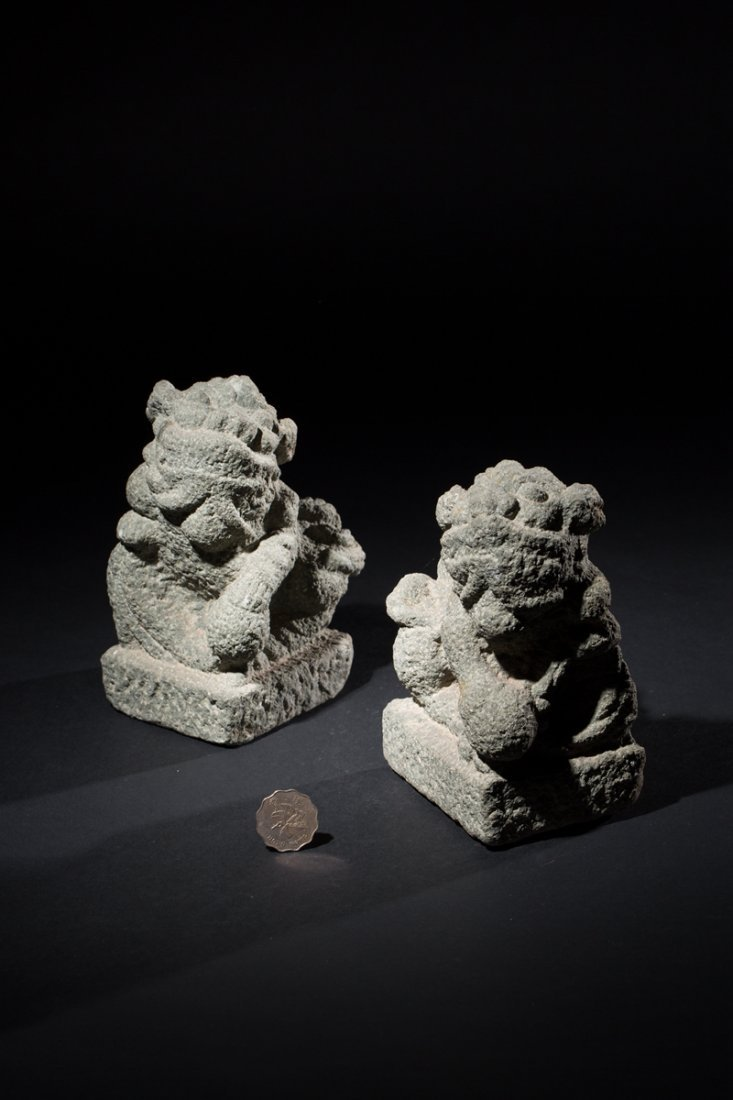 A couple of Stone lions
