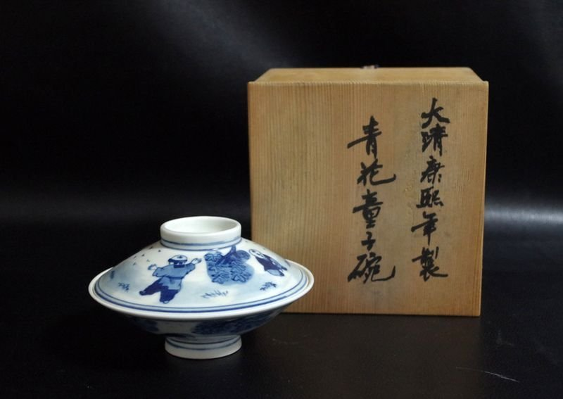 Blue and White Porcelain bowl Qing Dynasty;