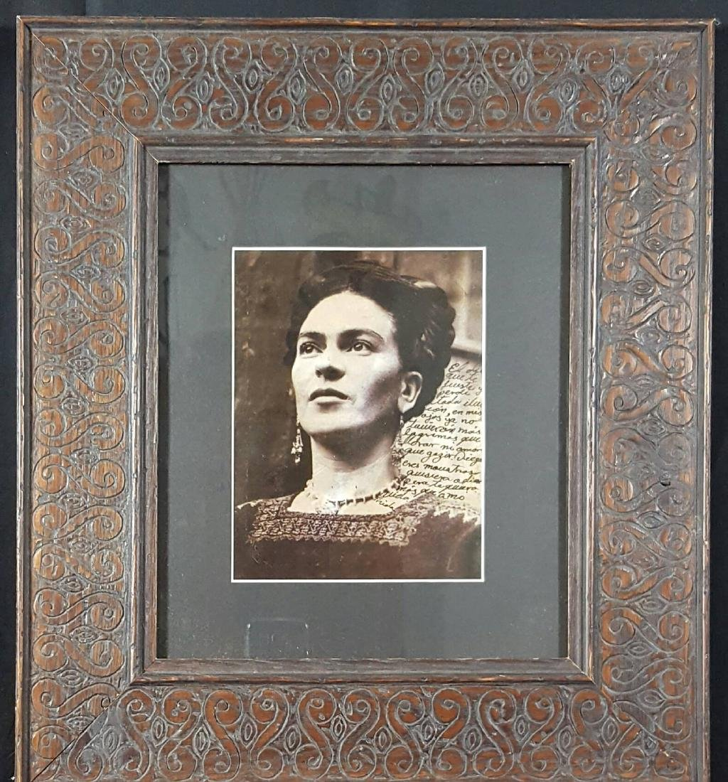 "Frida Kahlo Dedicate photo-size 7.5""h x 5.5""w-With"