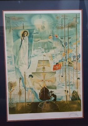 Salvador Dali-Lithograph- Certificate of Authenticity
