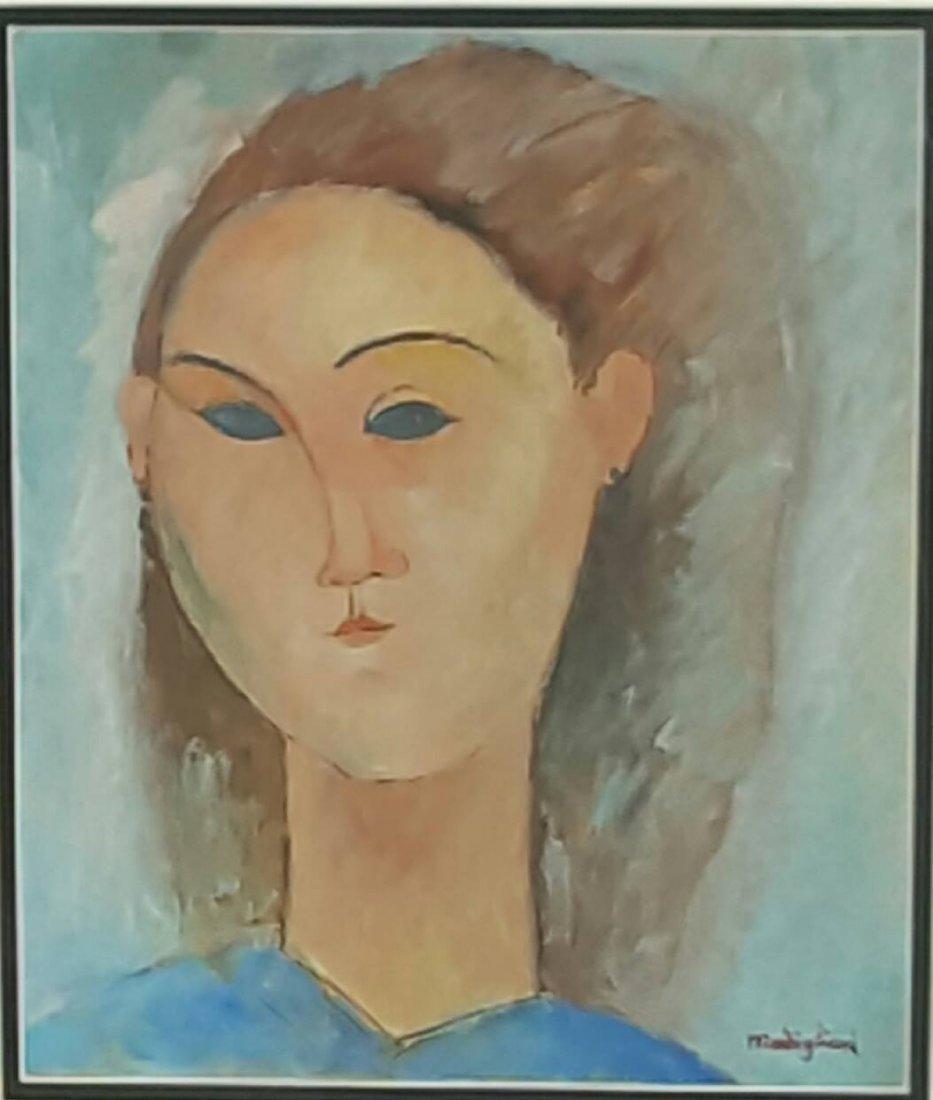 Amadeo Modigliani (1884-1920) (coa)(attrib )Water color