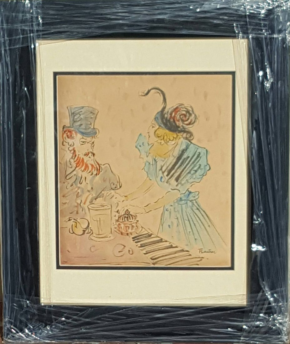 Henry Toulouse Lautrec(1864-1901)(attrib) (coa)-Water