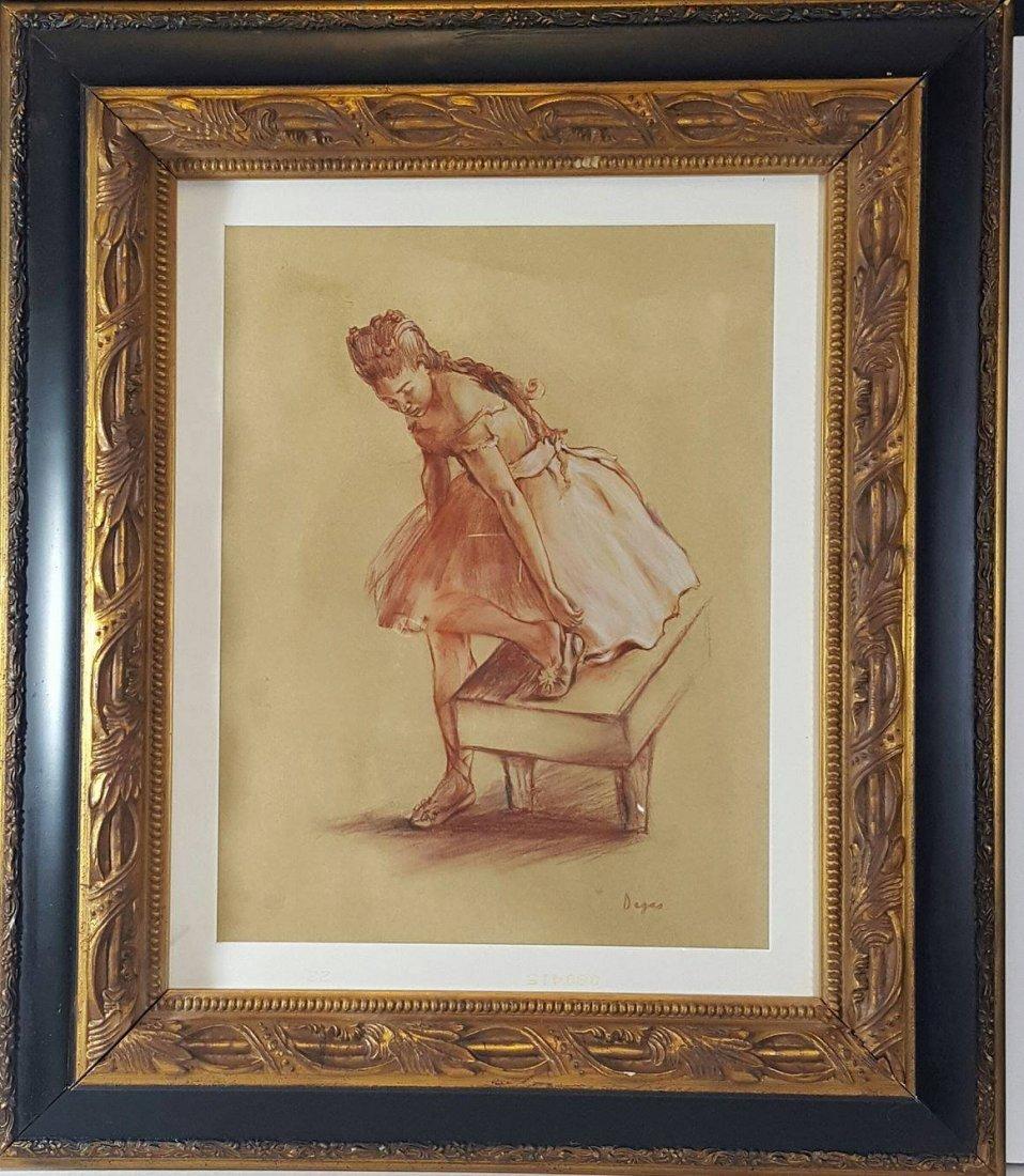 Edgar Degas (1834-1917) (attrib) (coa)Pastel on