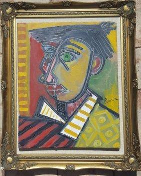 Pablo Picasso (1881-1973) (attrib)oil On Canvas,