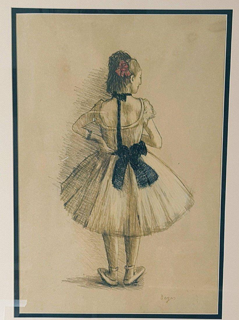 Edgar Degas (1834-1917)-Mixed Media on Paper-ATTRIB.