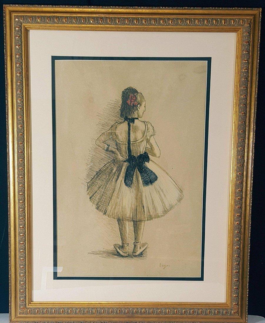 Edgar Degas (1834-1917)-Mixed Media on Paper-ATTRIB. - 2