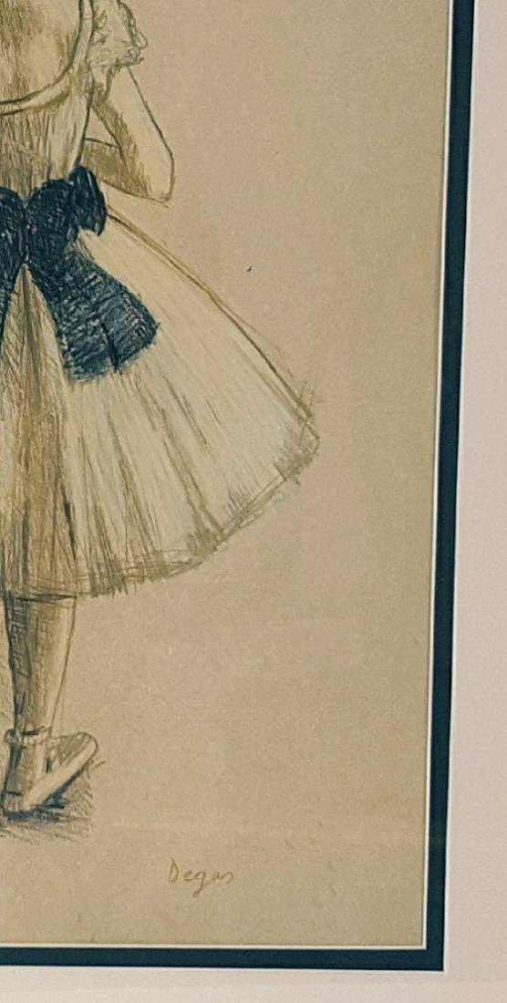 Edgar Degas (1834-1917)-Mixed Media on Paper-ATTRIB. - 3