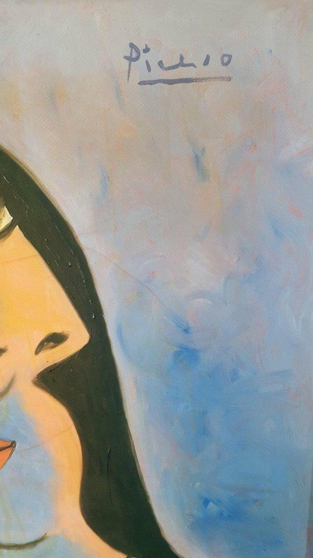 Pablo Picasso (1881-1973)-oil on canvasr-  ATTRIB. - 3