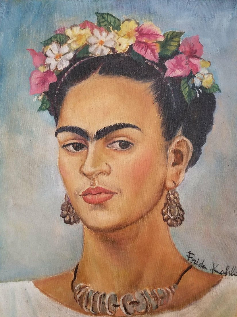 Frida Kahlo (1907-1954)Oil on canvas ,was aMexican