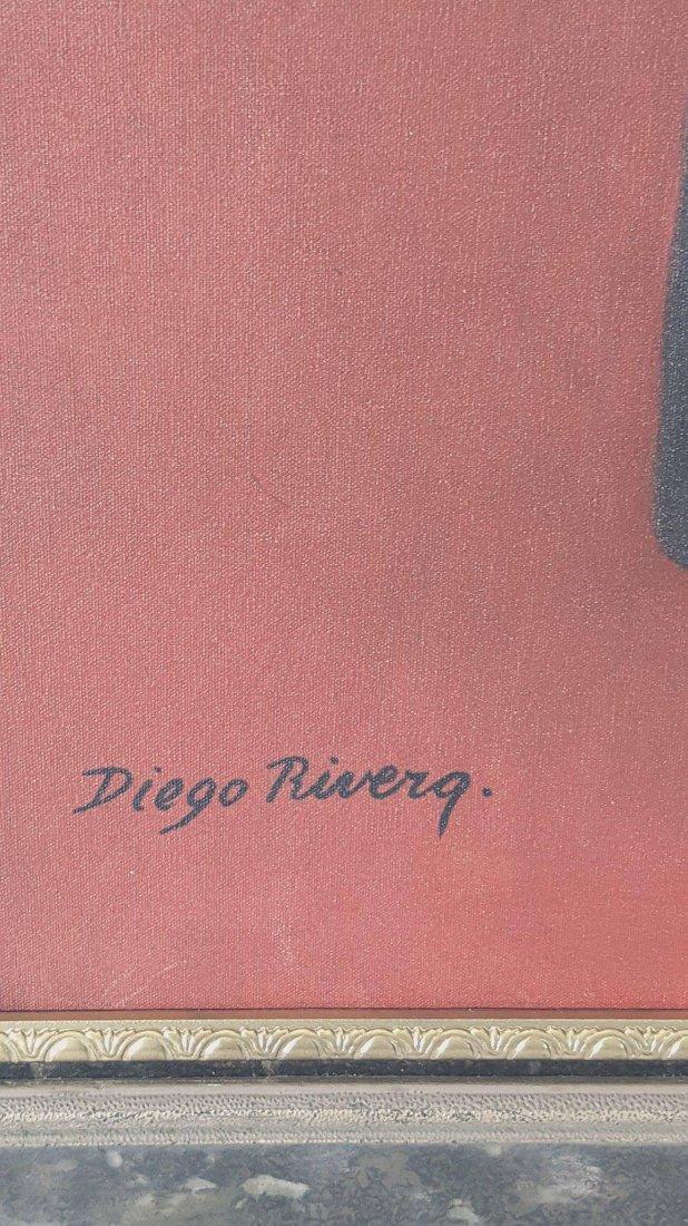 Diego Rivera(1886-1957) - oil on canvas- ATTRIB. COA- - 2