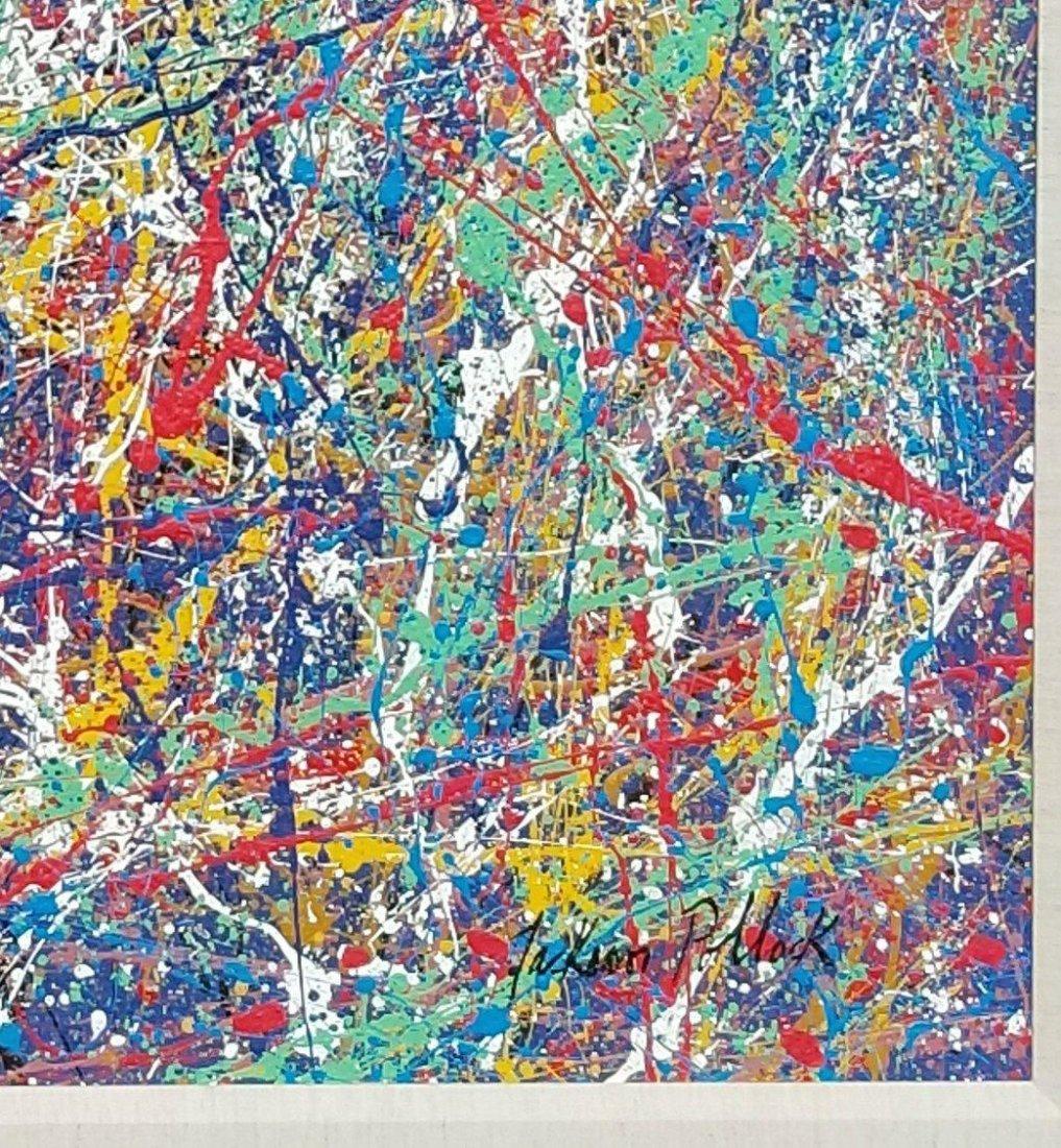 Jackson Pollock (1912-1956)(attrib)(coa) american paint - 2