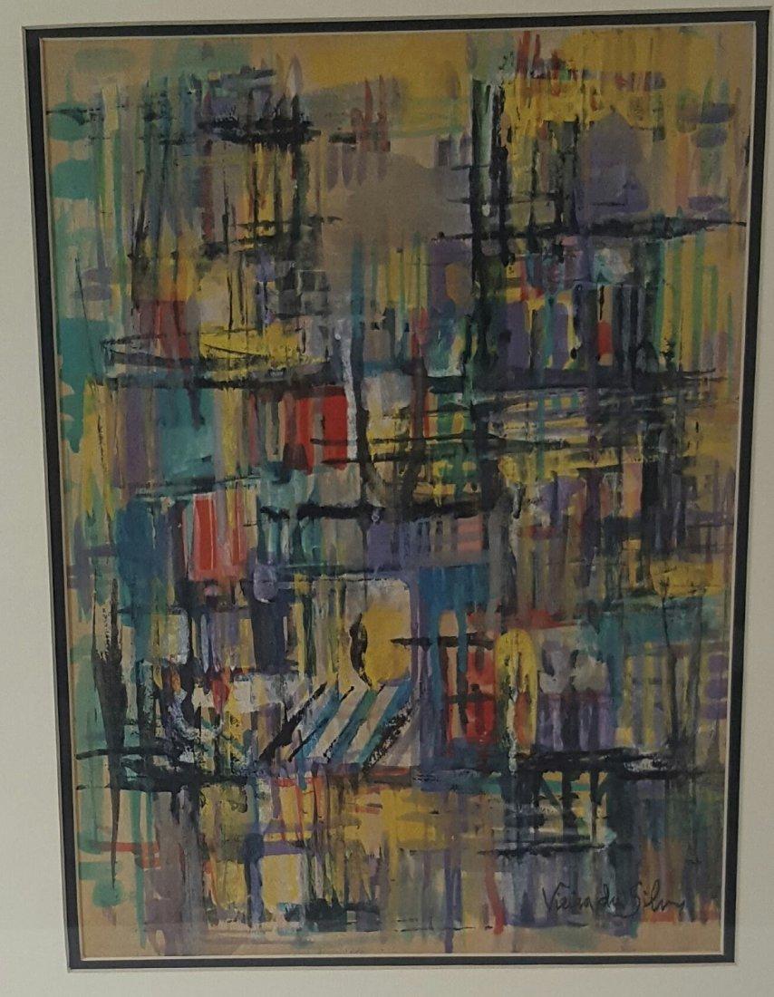 Maria Helena Vieira da Silva ( 1908-1992)-Water color