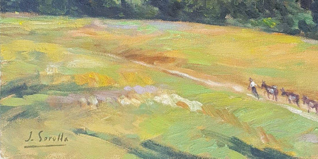 Joaquin Sorolla y Bastida (1863-1923)-Oil on canvas- - 2