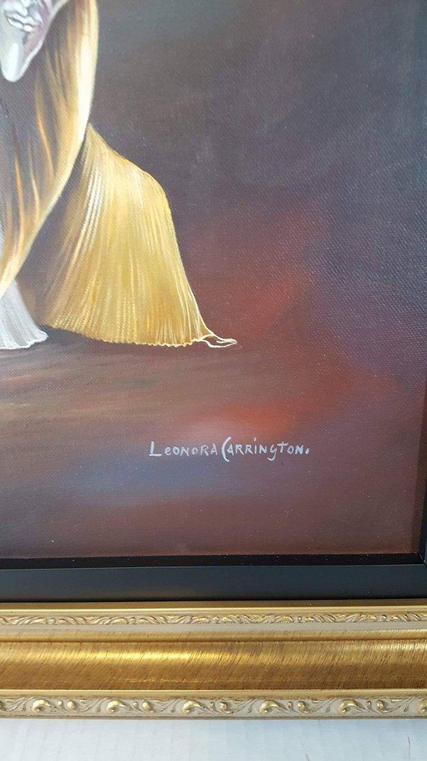 Leonora Carrington (1917-2011)- oil on - 3