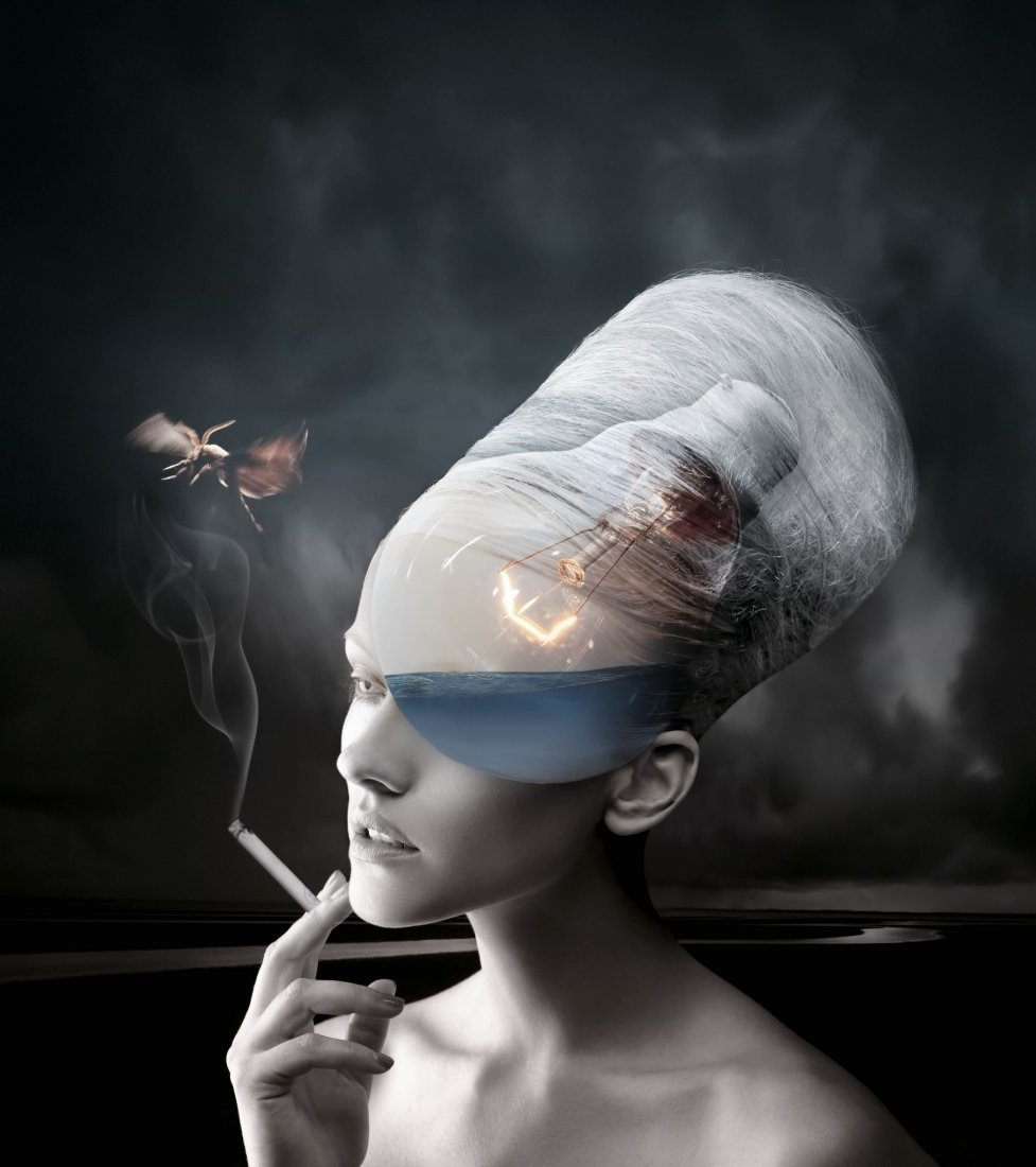 Dangerous Thoughts Printed ,by Tan Tolga Demirci arts