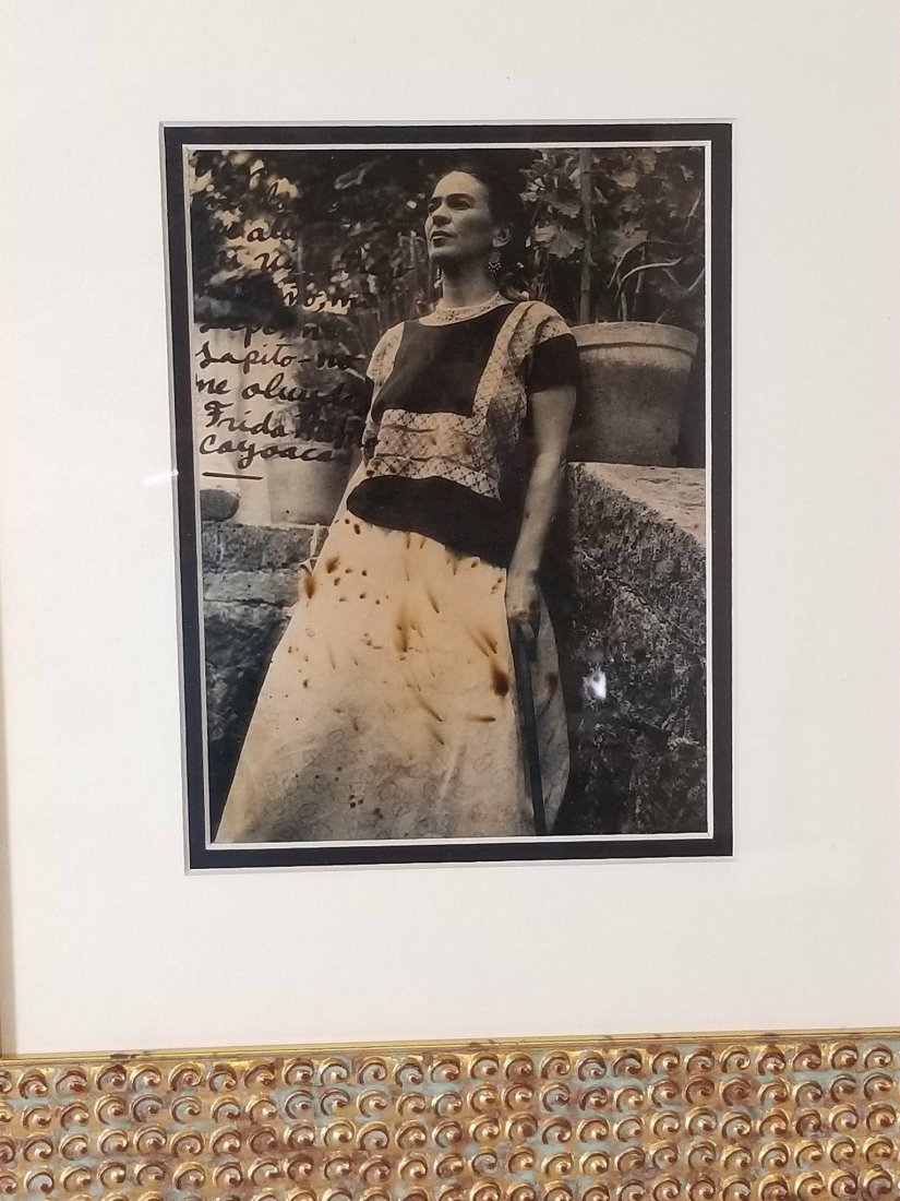 Frida Kahlo (1907-1954)Photograph ,signed by the - 3