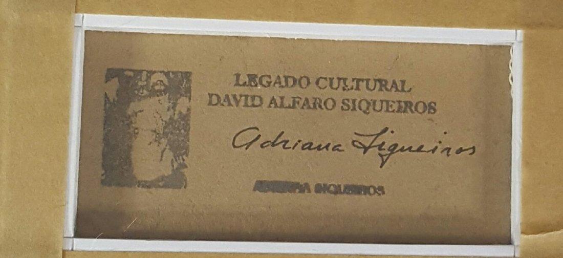 David Alfaro Siqueiros- Burning Tree-Attrib. COA-Size: - 2