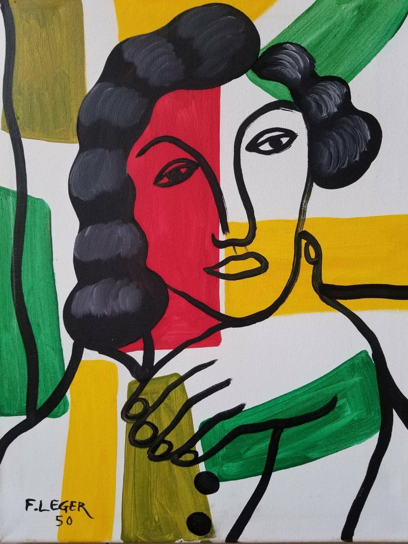 Fernand Leger (1881-1955)- OIL ON CANVAS/ - 2