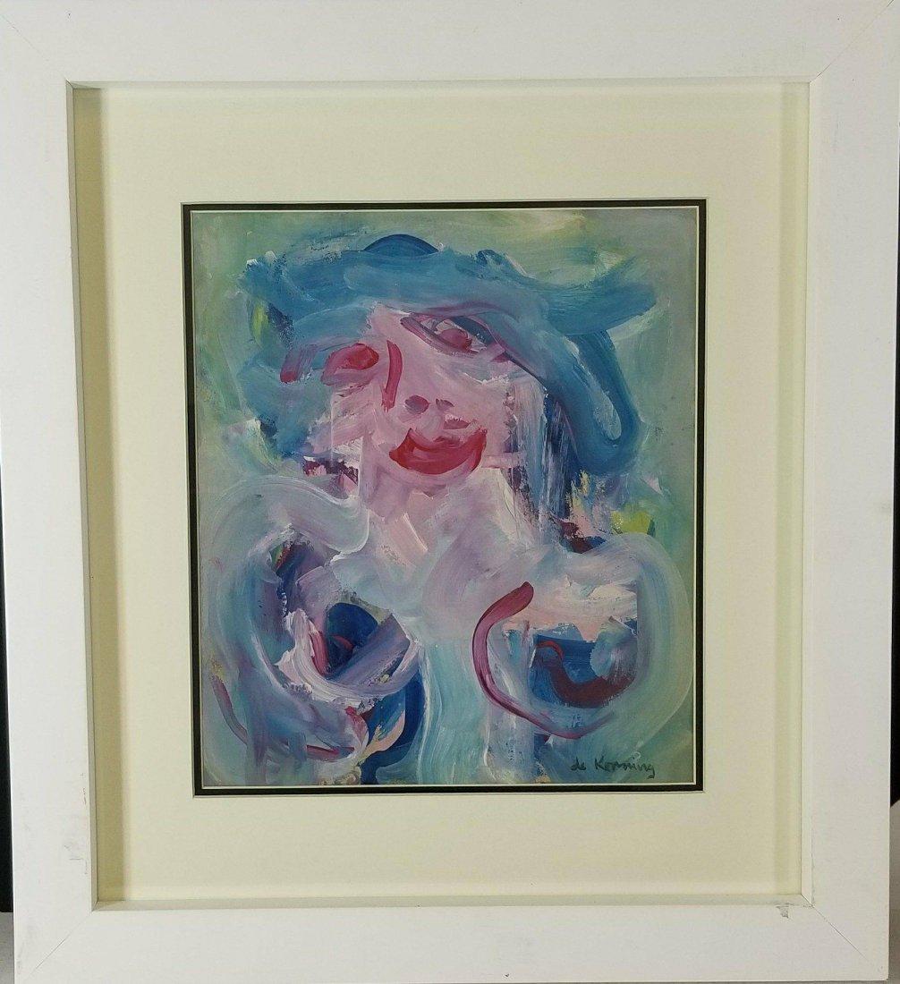 Willem de Kooning (1904-1997) water color on