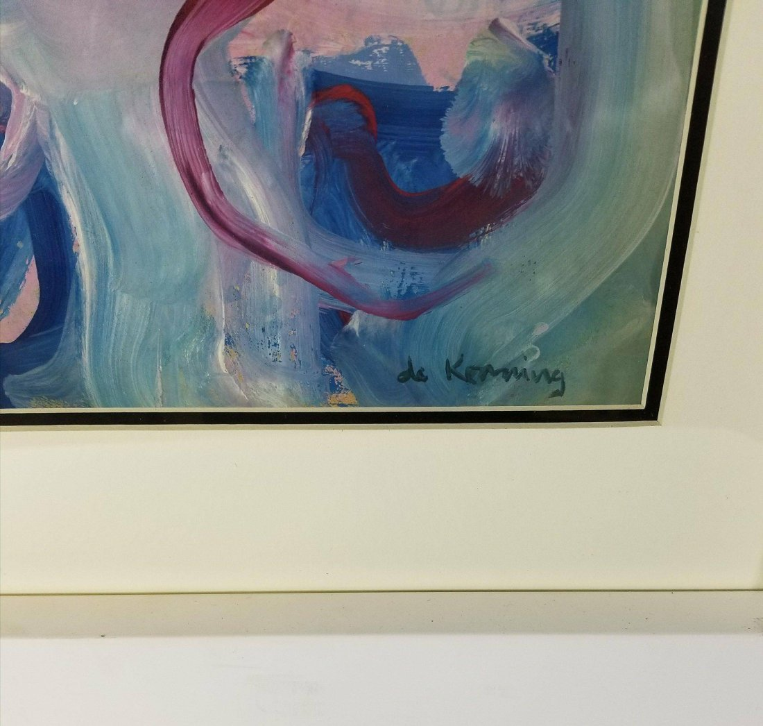 Willem de Kooning (1904-1997) water color on - 2