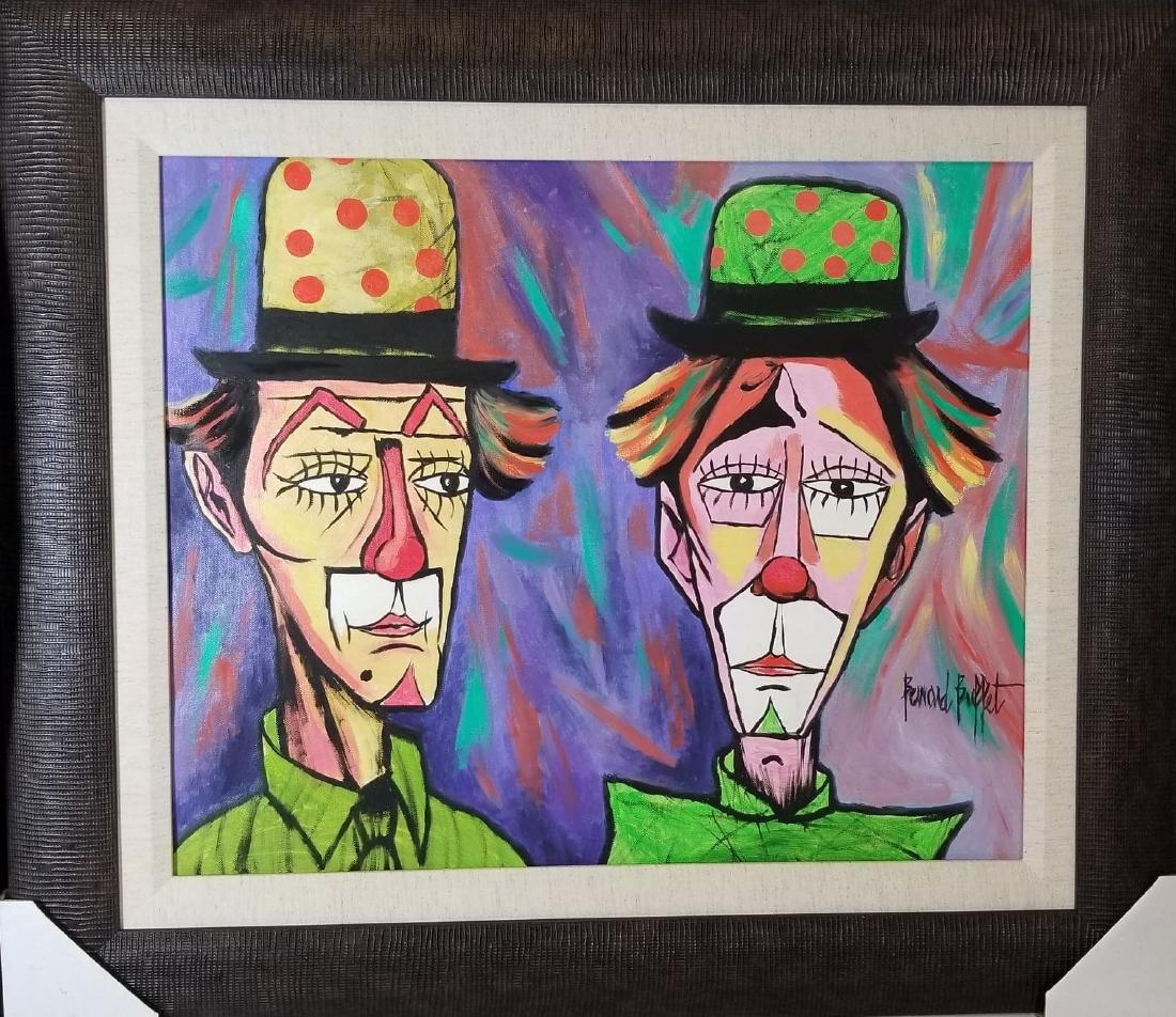 Bernard Buffet(1928-1999 was a French painter of