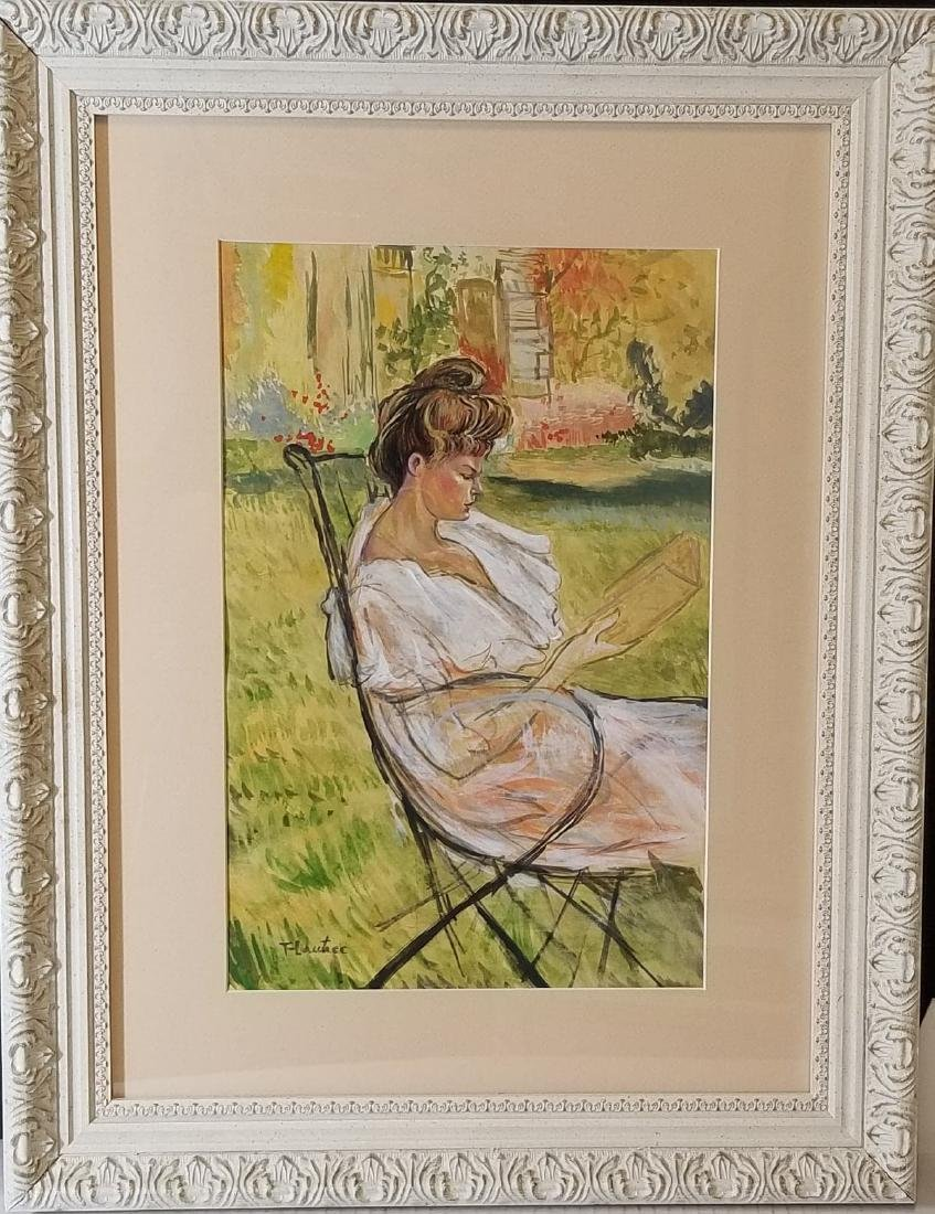 Toulose Lautrec (1864-1901) water color on paper