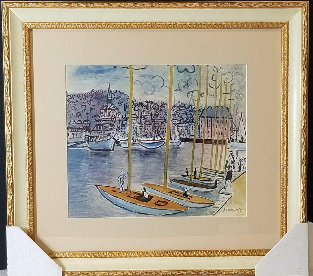 Raoul Dufy (1877-1953)- Water color on Paper- ATTRIB.