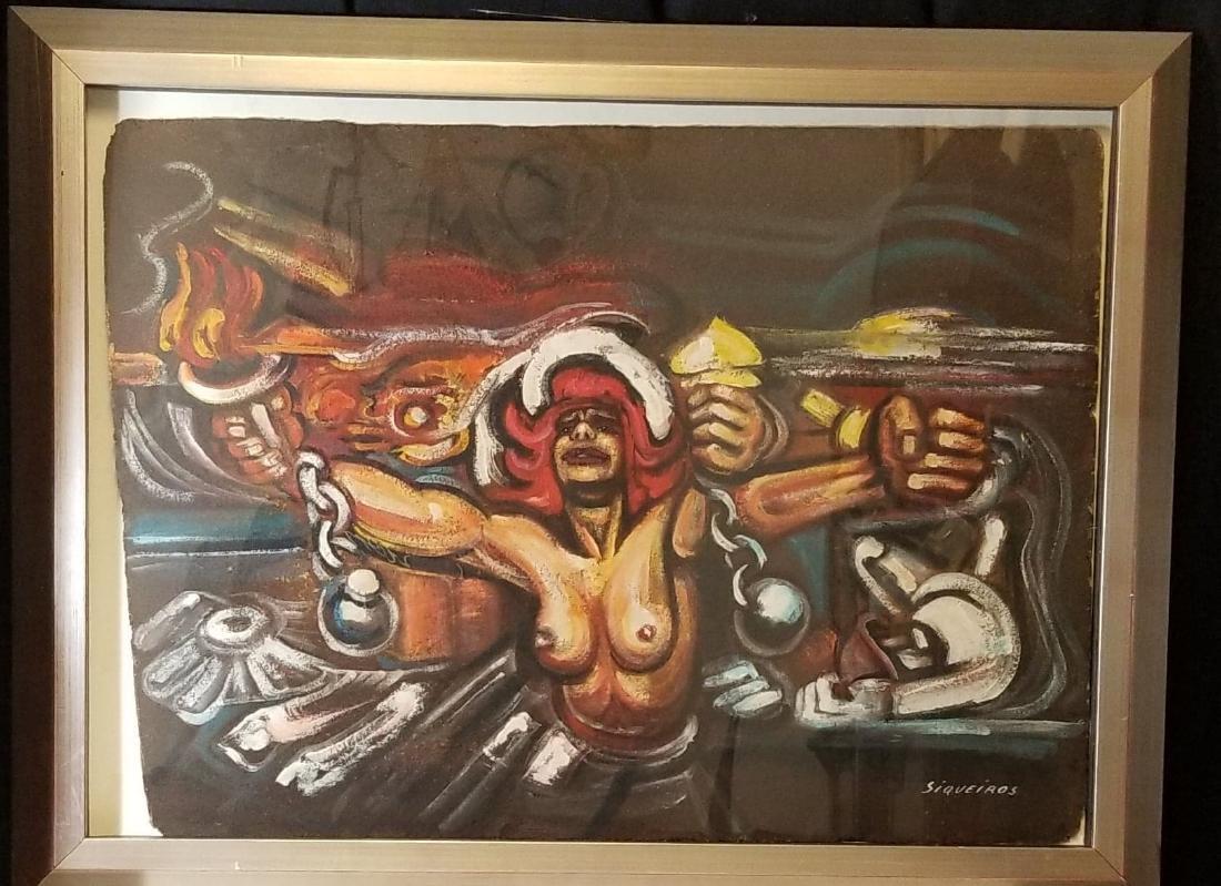 David Alfaro Siqueiros (1896-1974) - Was a Mexican