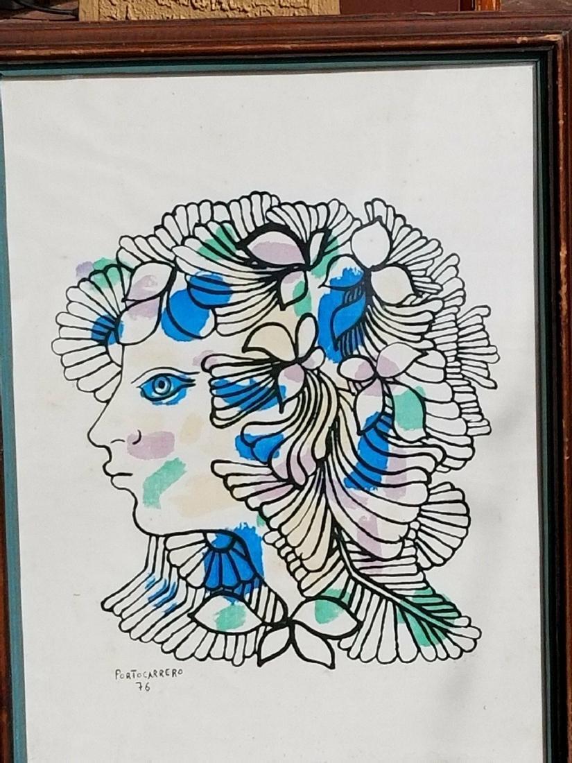 Rene Portocarrero (cuban)(1912-1986) (Flora de