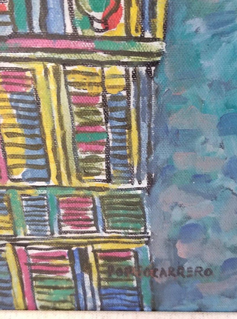 Rene Portocarrero (cuban)(1912-1986)(  oil on canvas - 2
