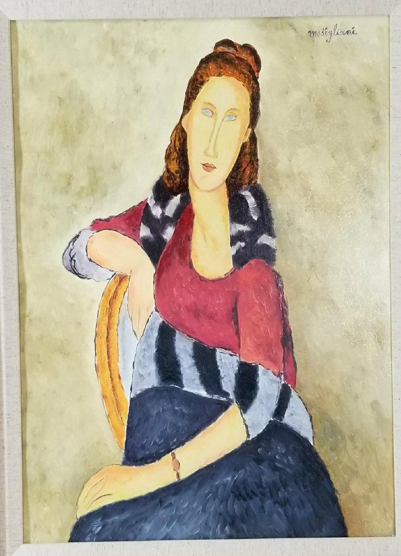 Amadeo Modigliani (1884-1920)-Oil on Canvas-ATTRIB.