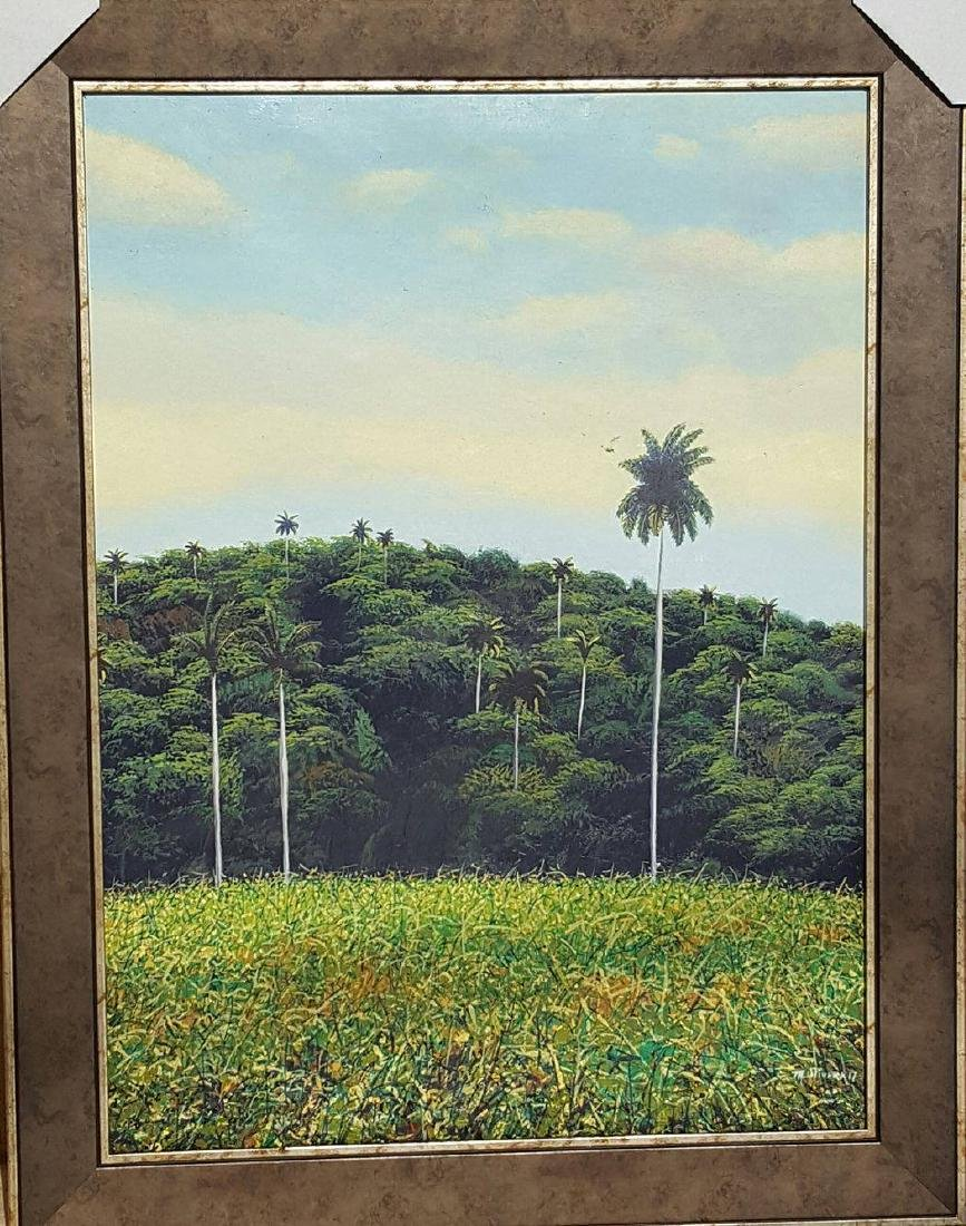 Marcos Olivera- Contemporary Cuban Artist- Oil on