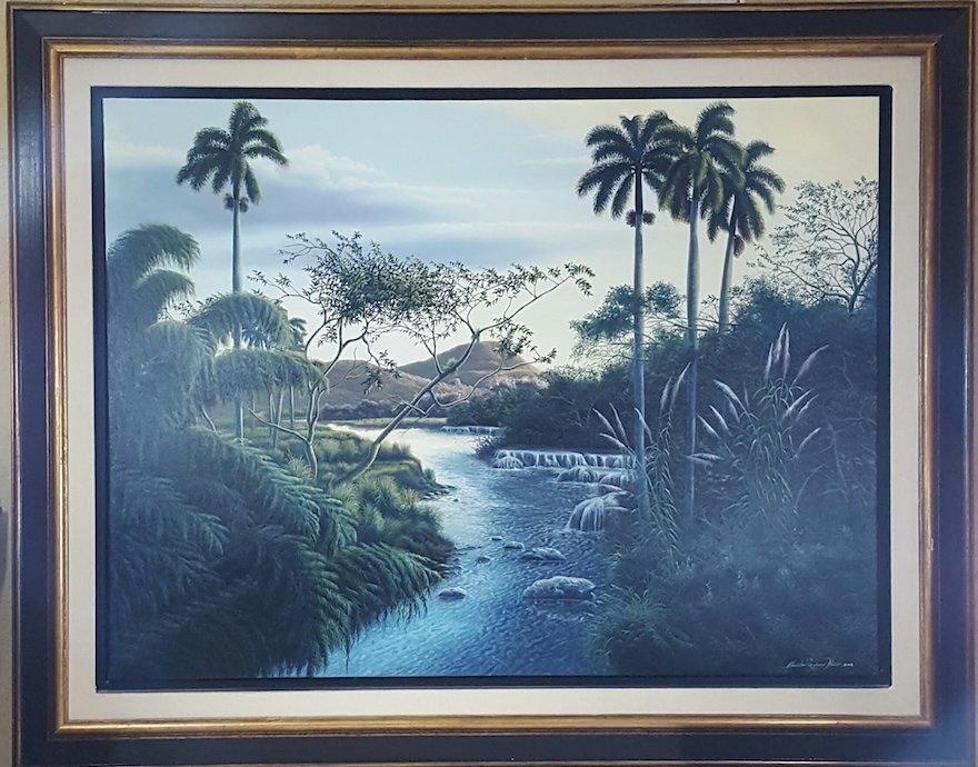 Quisbel Lezcano Blanco- Cuban contemporary artist who