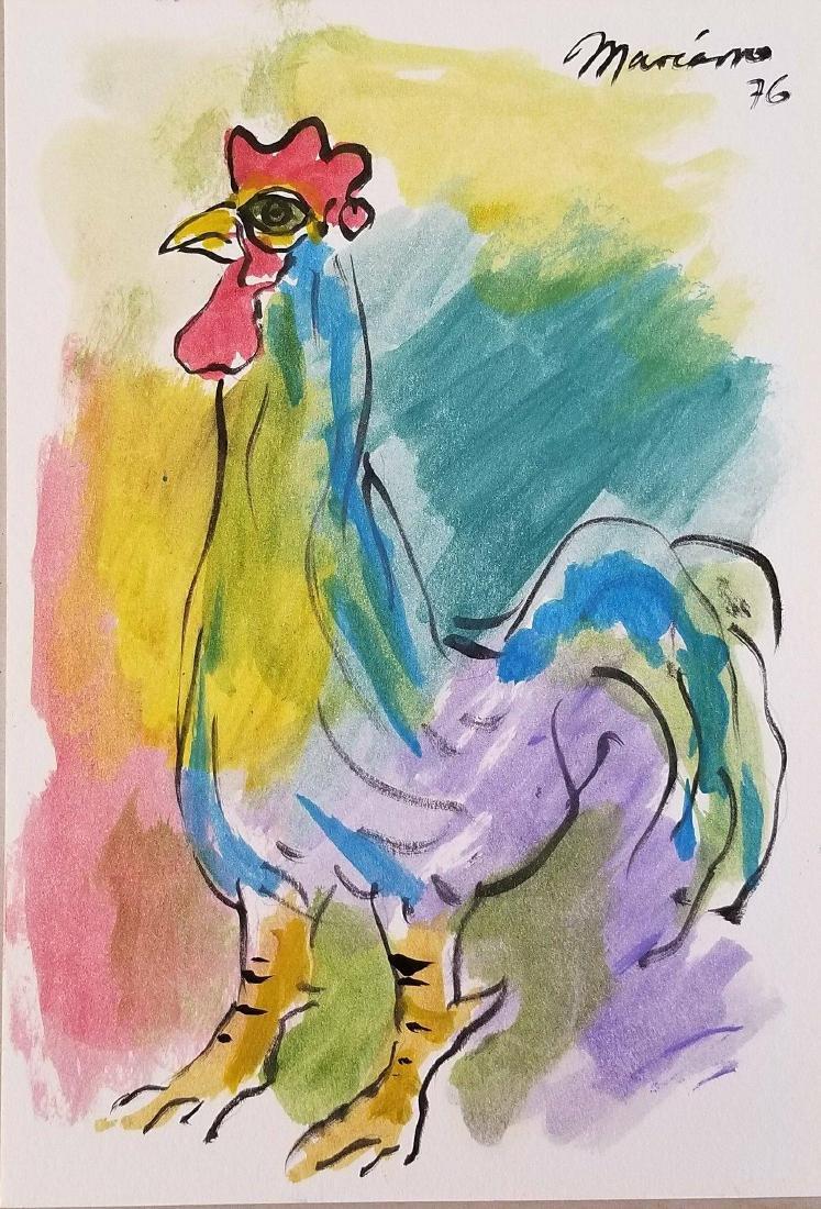Mariano Rodridriguez (1912-1990)Cuban artis in 1938 he