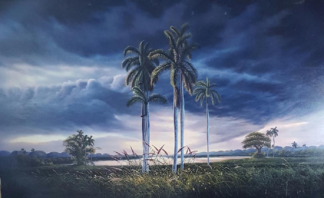 Quisbel Lezcano Blanco is the Cuban Contemporary artist