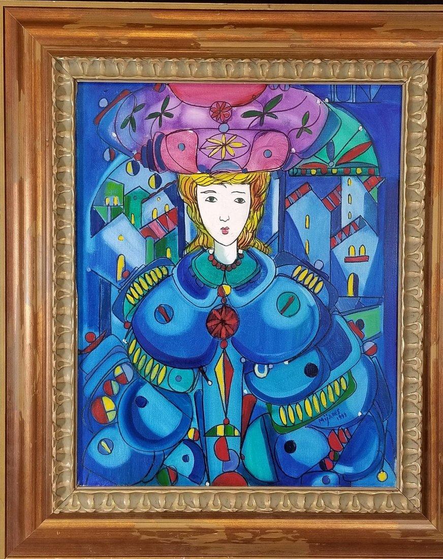 "Jose Maria Mijares (1921-2004)-Oil on Canvas. """