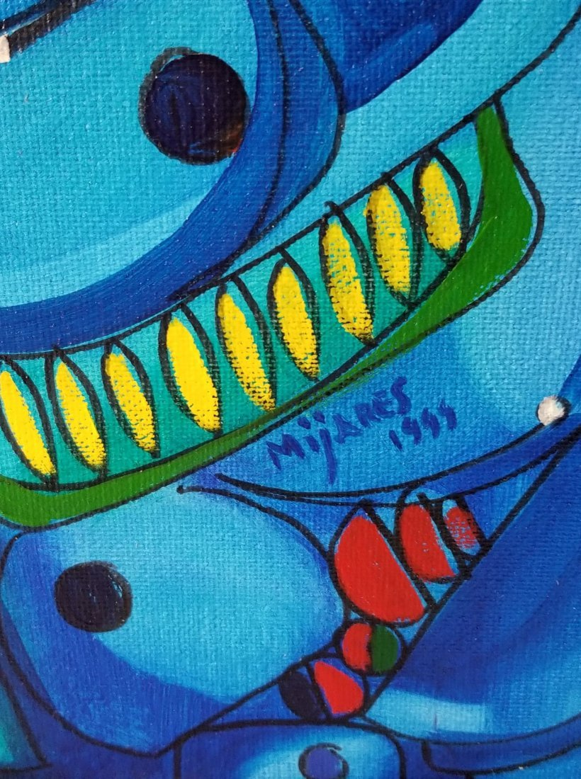 "Jose Maria Mijares (1921-2004)-Oil on Canvas. "" - 2"