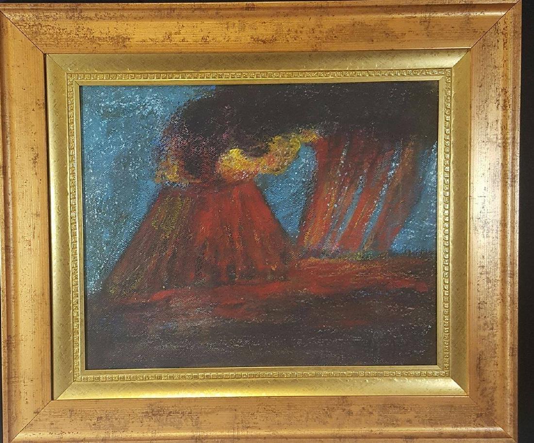 Dr. Atl (1875-1964)- Oil on Mansonite- ATTRIB.