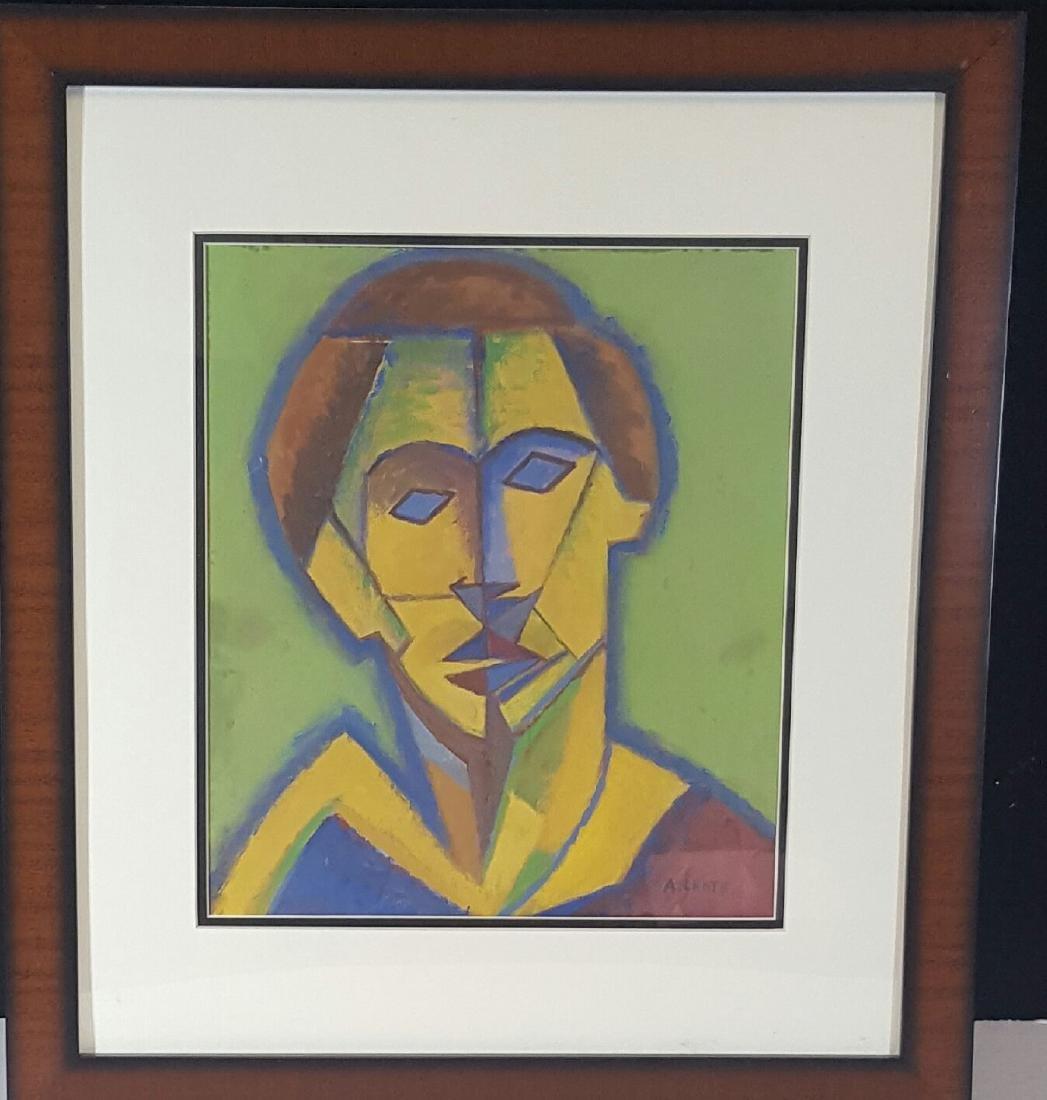 Andre Lhote (1885-1962) Attrib (coa)-Gouache on paper