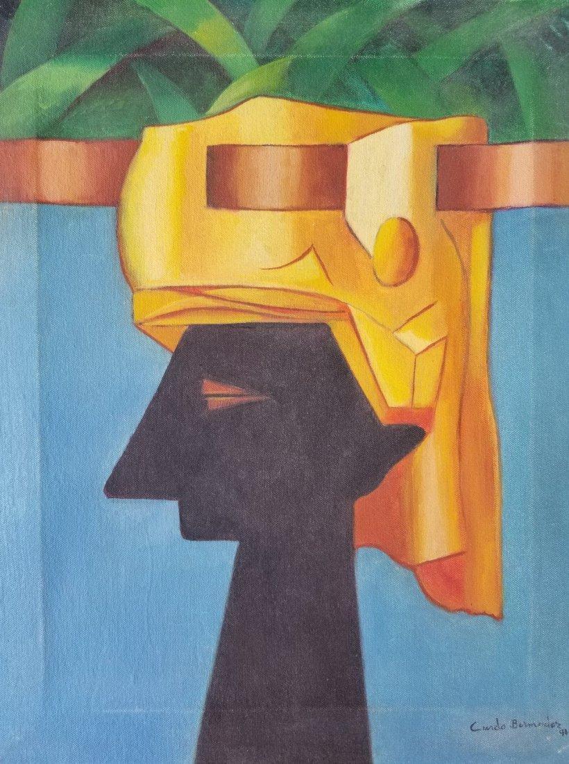 Cundo Bermudez (1914-2008) Attrib -(coa)Cuban Painter a