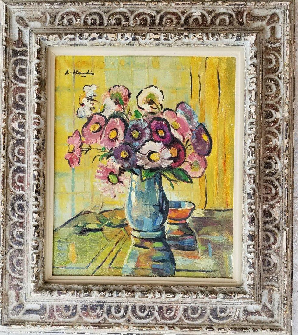 Leslie Hunter (1877-1931)- Oil on canvas- Still Life