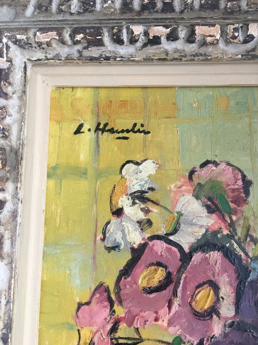Leslie Hunter (1877-1931)- Oil on canvas- Still Life - 2