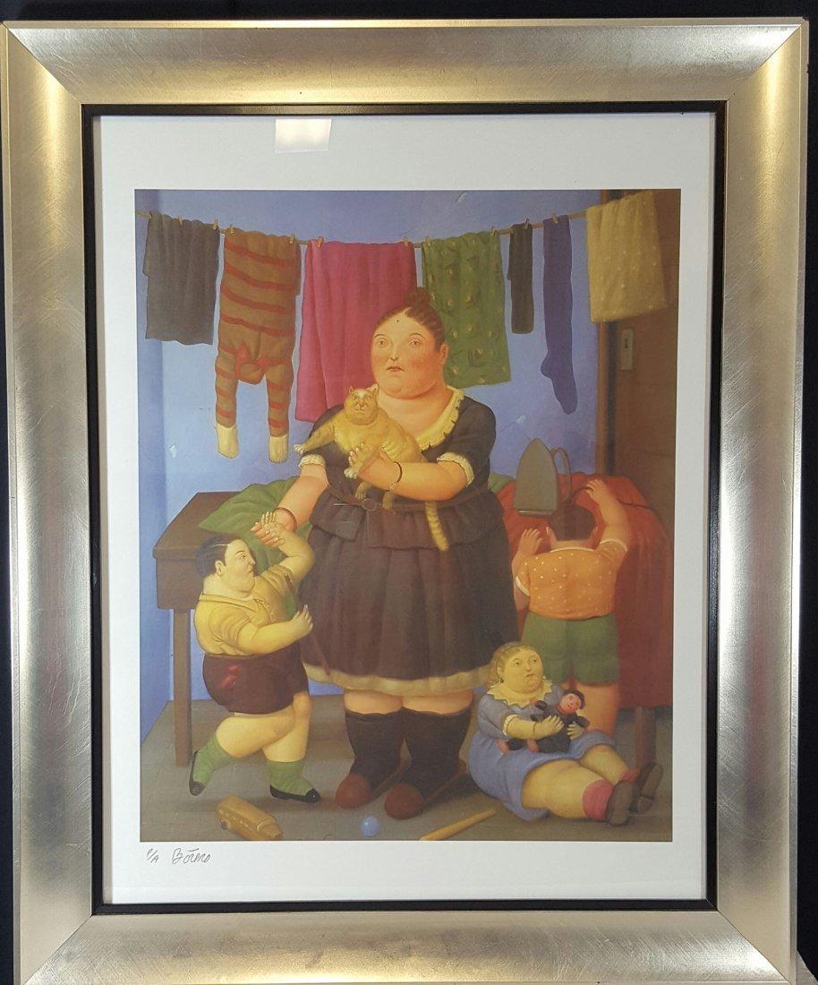 """Fernando Botero- Serigraph-Size: 25""""h X 19""""w  shipping"""