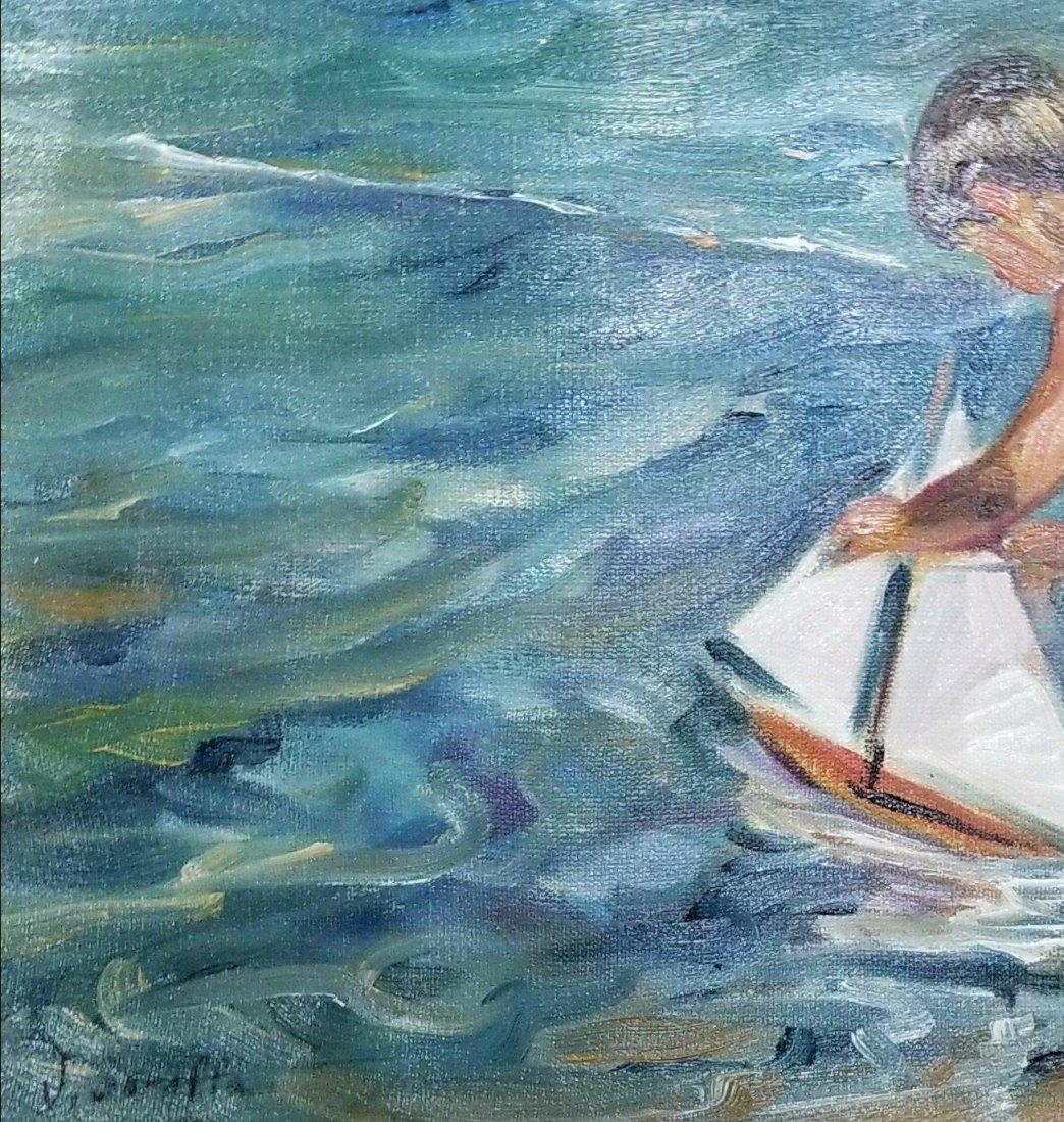 Joaquin Sorolla y Bastida (1863-1923) (attrib)(coa) - 2