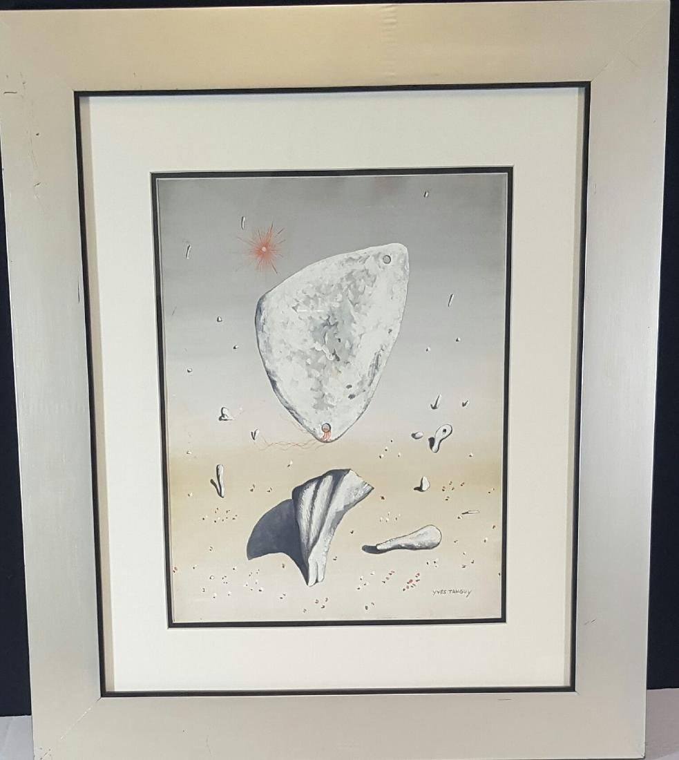 Ives Tanguy (1900-1955) attrib (coa) water color on